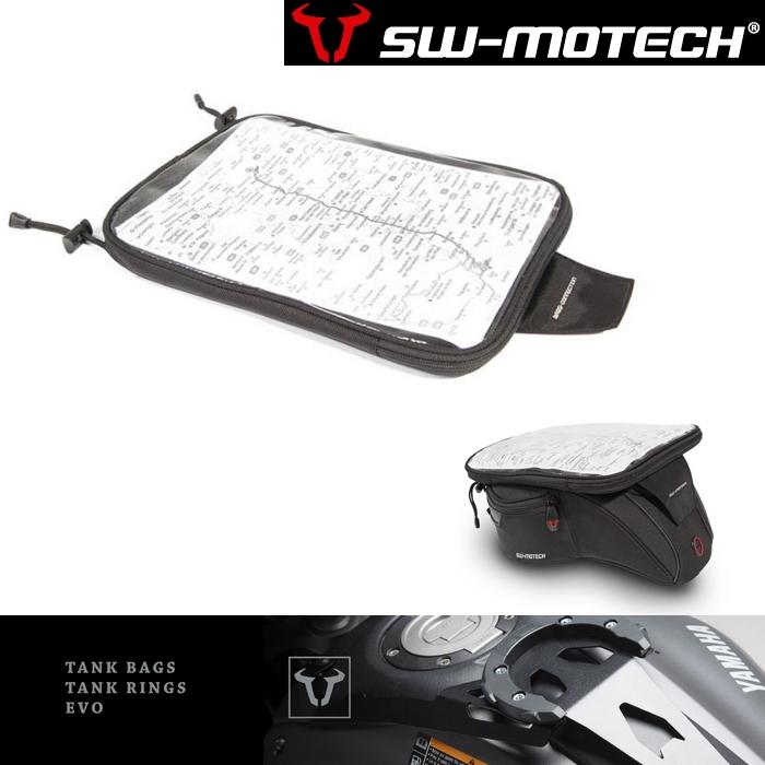 SW-MOTECH EVOタンクバッグ  マップホルダー