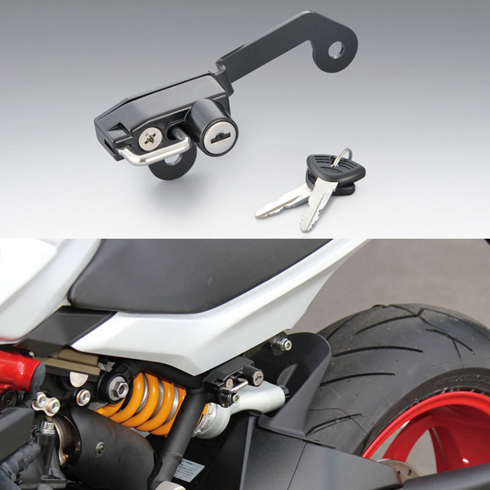 KIJIMA 〔WEB価格〕 ヘルメットロック スーパースポーツ/S 17Y