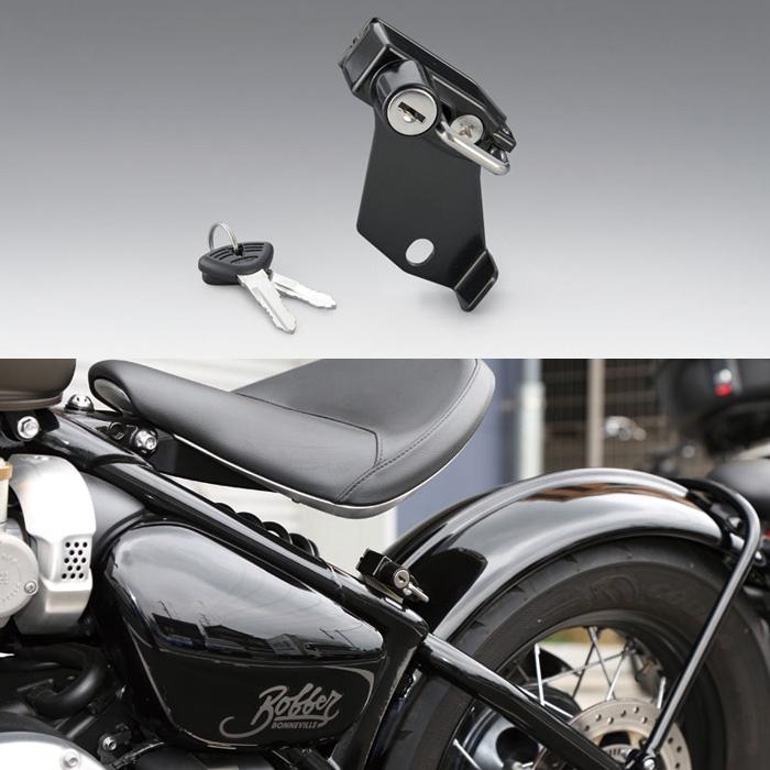 KIJIMA 〔WEB価格〕 ヘルメットロック ボンネビル ボバー