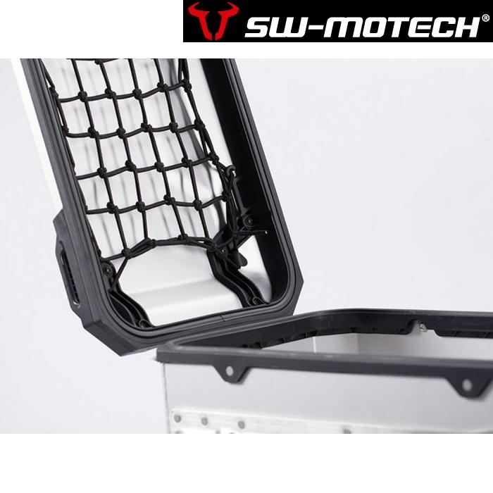 SW-MOTECH 〔WEB価格〕TRAX ADV Lサイドケース用リッドネット