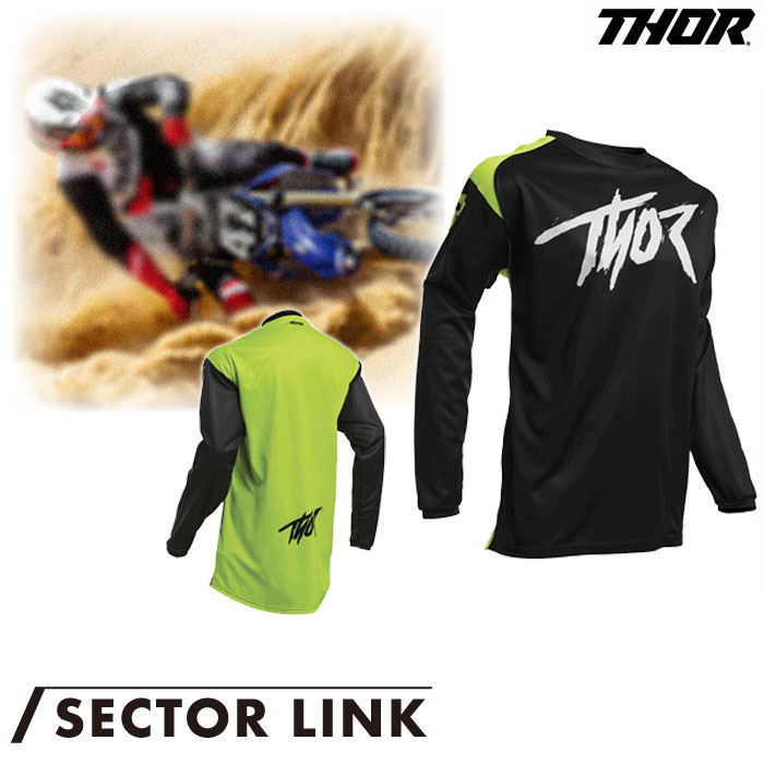 THOR SECTOR LINK ジャージ アシッド◆全6色◆