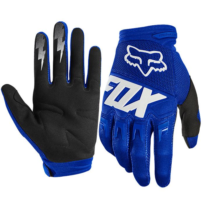 FOX RACING 〔通販限定〕 22751-025 ダートパウグローブ レース ブルー/ホワイト
