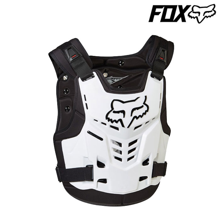 FOX RACING 〔WEB価格〕プロフレーム LC ルーストデフレクター ホワイト◆全5色◆