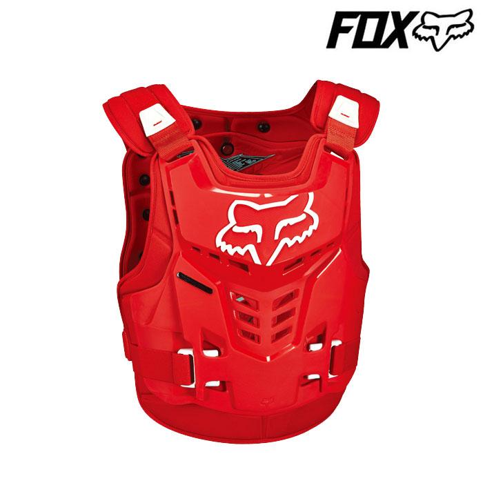 FOX RACING 〔WEB価格〕プロフレーム LC ルーストデフレクター レッド◆全5色◆