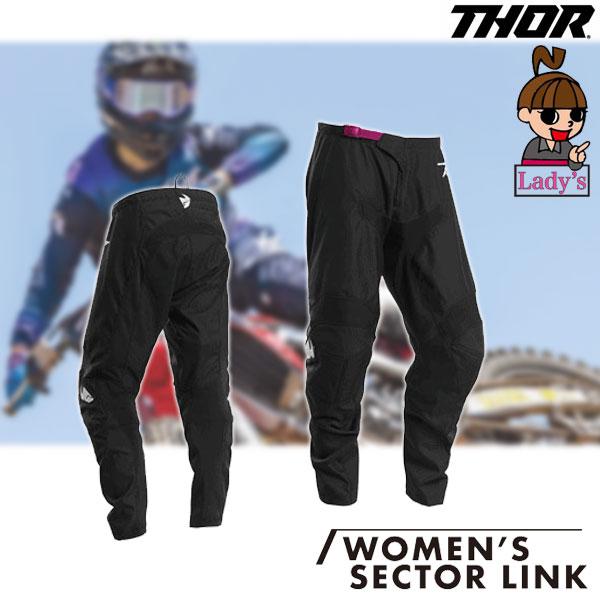THOR 【レディース】SECTOR LINK MXパンツ ブラック