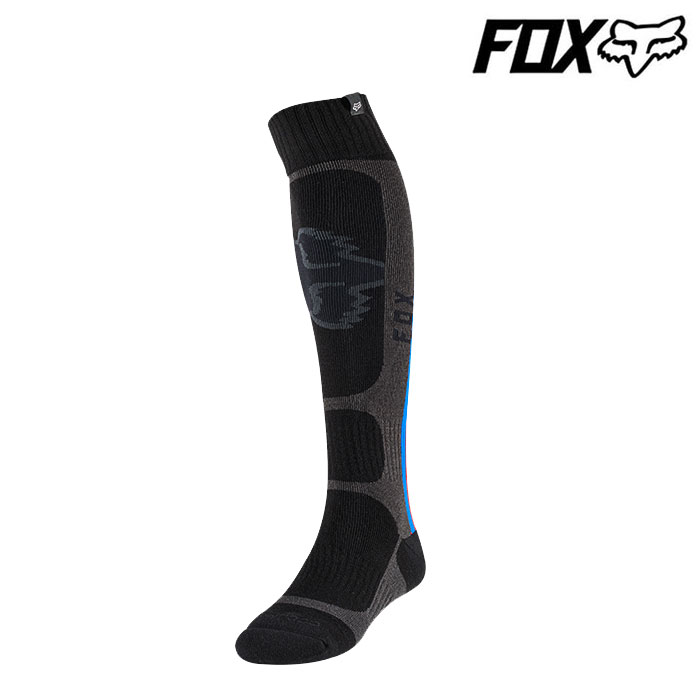 FOX RACING 〔WEB価格〕クールマックス MXソックス ブラック◆全2色◆