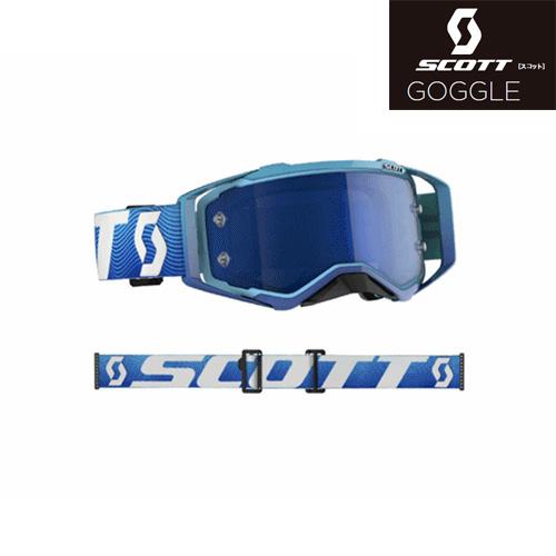"""SCOTT 〔WEB価格〕20モデル """"PROSPECT""""ゴーグル ブルー/ホワイト"""