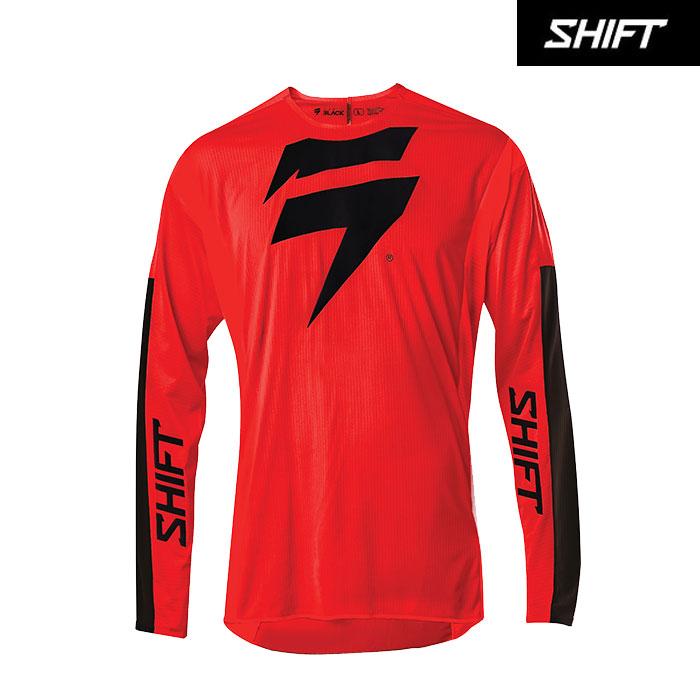 SHIFT 〔WEB価格〕ブラックレーベル レース1 ジャージ レッド/ブラック◆全2色◆