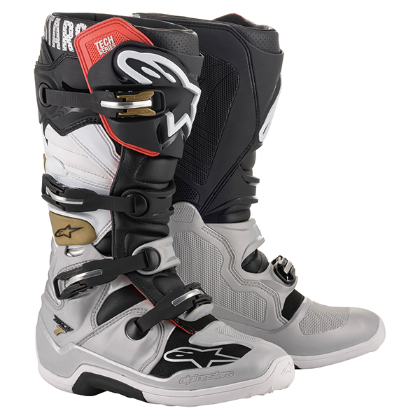 alpinestars 〔WEB価格〕 TECH7 ブーツ ブラック/シルバー/ホワイト/ゴールド ◆全6色◆