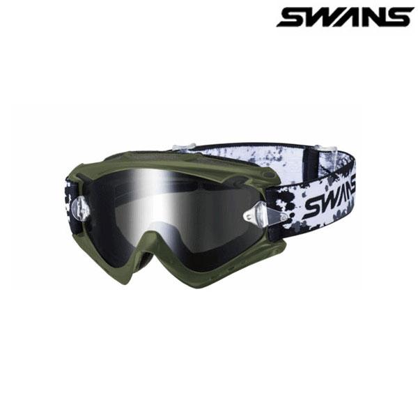 SWANS MX-RUSH-M オリーブ(ブラックミラー×スモーク)