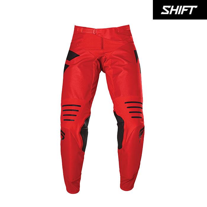 SHIFT 〔WEB価格〕ブラックレーベル パンツ レッド/ブラック◆全4色◆