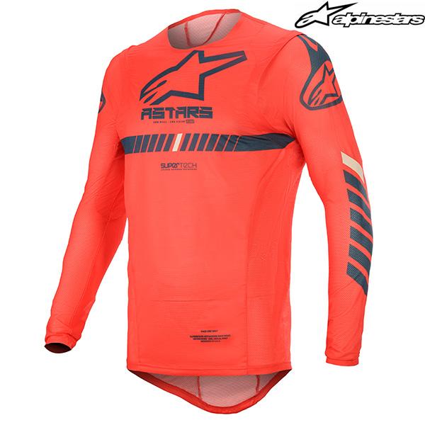 alpinestars 〔WEB価格〕 3760720-3070 SUPER TECH JERSEY スーパーテック ジャージ ブライトレッド