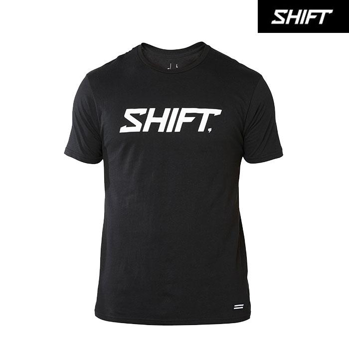 SHIFT 〔WEB価格〕ワードマーク TEE ブラック◆全2色◆