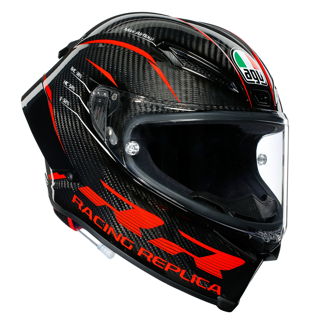 AGV PISTA GP RR / PERFORMANCE CARBON/RED