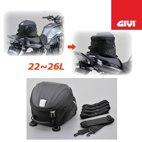 GIVI 〔WEB価格〕15558 ST607 シートバッグ 22-26L