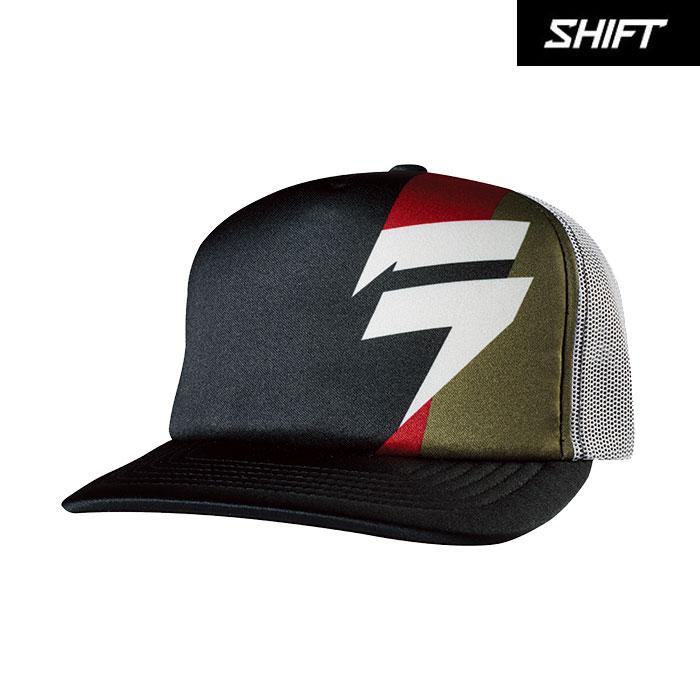 SHIFT 〔WEB価格〕ホワイトレーベル スナップバックハット ブラック