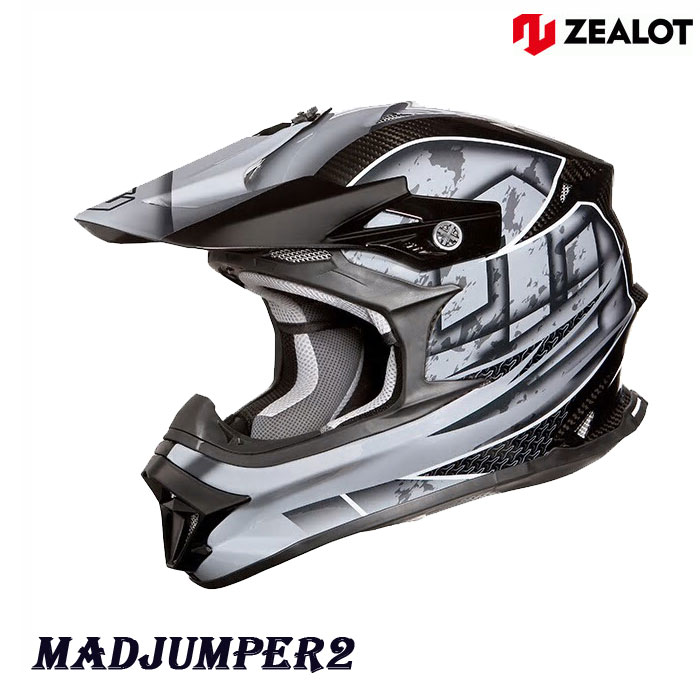 ZEALOT 〔WEB価格〕MJC0012MadJumper2[マットジャンパー2] CARBON HYBRID GRAPHIC