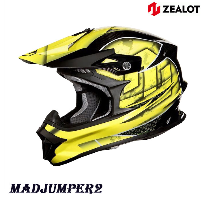 ZEALOT MJC0014MadJumper2[マットジャンパー2] CARBON HYBRID GRAPHIC