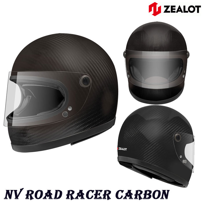 ZEALOT 〔WEB価格〕NVC0011 NV Road Racer [ロードレーサー] CARBON