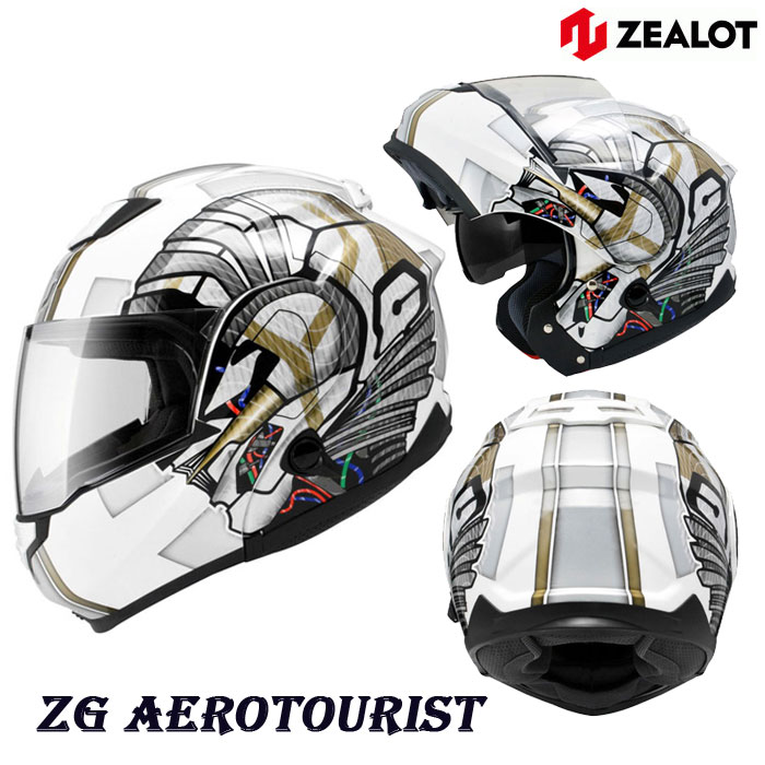 ZEALOT 〔WEB価格〕ZGST0012 ZG SystemTourer[システムツアラー] GRAPHIC