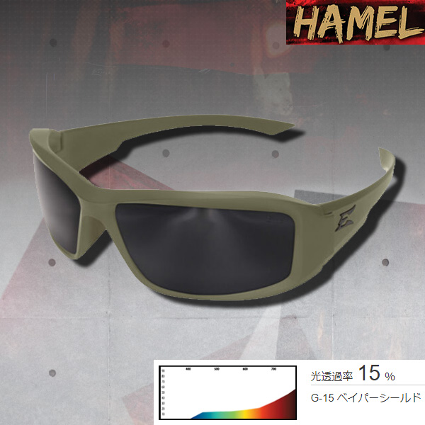 【通販限定】お取り寄せ品◆曇らない&割れないサングラス◆ Hamel-Ranger Gray TT Frame/Smoke VS Lens UVカット/ツーリング/アウトドア/サバゲー