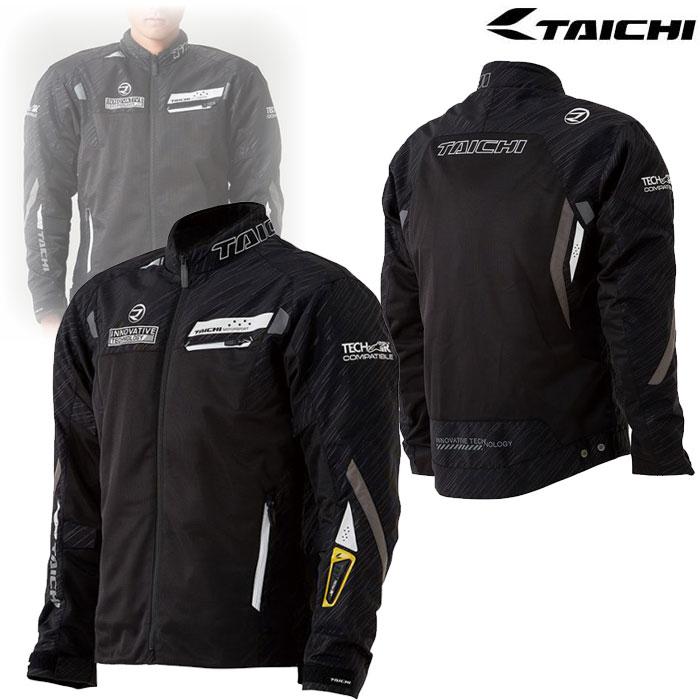 アールエスタイチ 〔WEB価格〕RSJ326 レーサーメッシュジャケット  for TECH-AIR BLACK/WHITE◆全2色◆