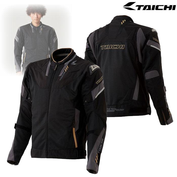 アールエスタイチ 【アウトレット】RSJ332 アームドハイプロテクション メッシュジャケット BLACK/GOLD