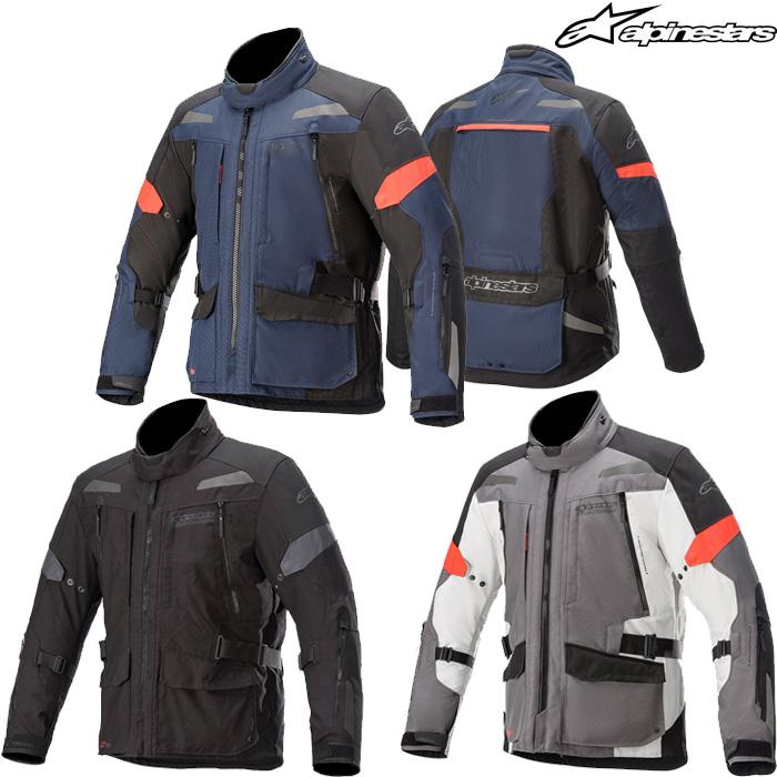 Alpinestars VALPARAISO V3 DRYSTAR DARK BLUE BLACK MOTORCYCLE JACKET S