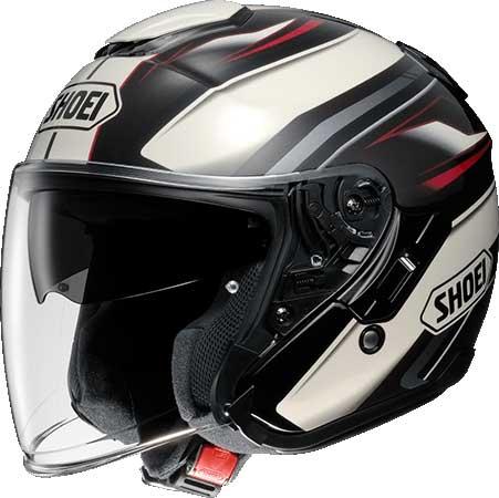 SHOEI ヘルメット 【通販限定】〔在庫限り 店頭在庫品 化粧箱無し〕J-CRUISE PASSE[パッセ] ジェットヘルメット