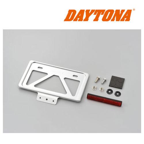 DAYTONA 99631 軽量ナンバープレートホルダー リフレクター付き クリアー ◆全7色◆