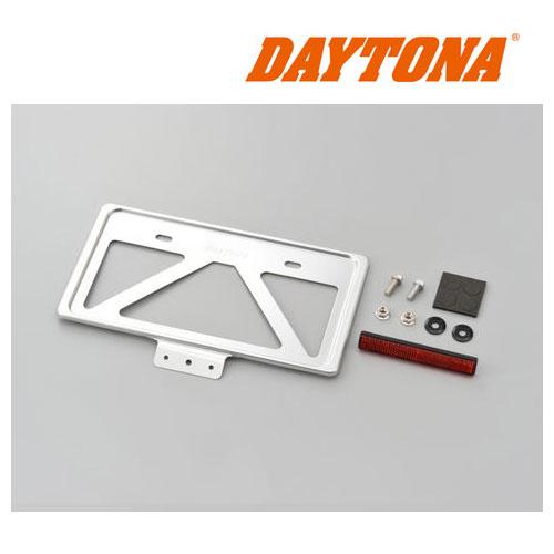 DAYTONA 99671 軽量ナンバープレートホルダー リフレクター付き クリアー ◆全7色◆