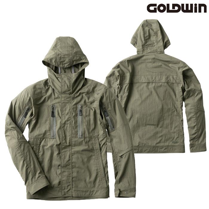 GOLDWIN GSM22002 クロスオーバージャケット オリーブ(OV)◆全4色◆