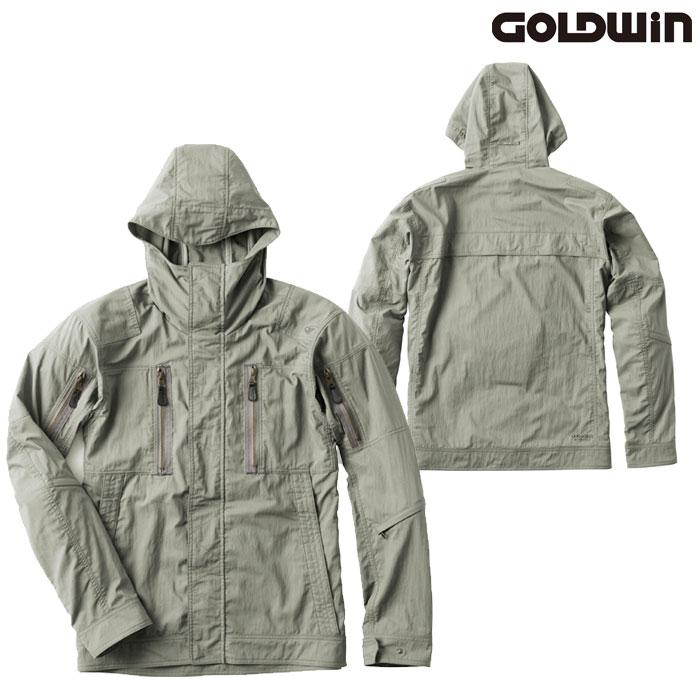 GOLDWIN GSM22002 クロスオーバージャケット ストーングレー(SG)◆全4色◆