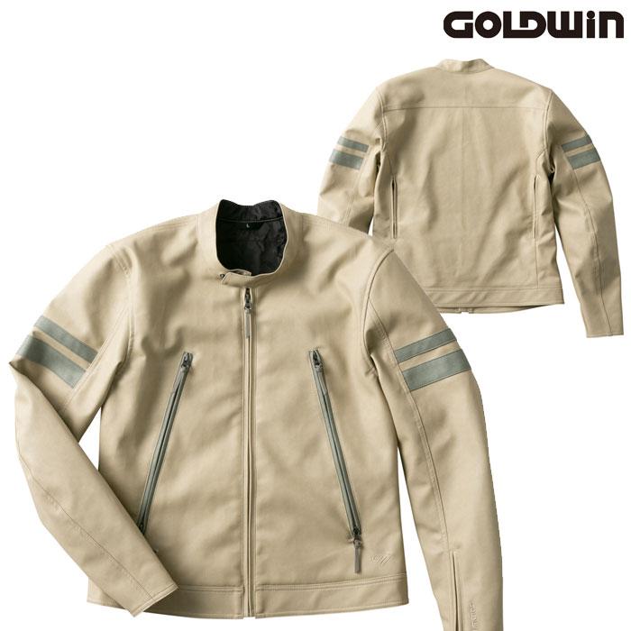 GOLDWIN GSM22003 シンセティックレザージャケットタン(TA)◆全4色◆