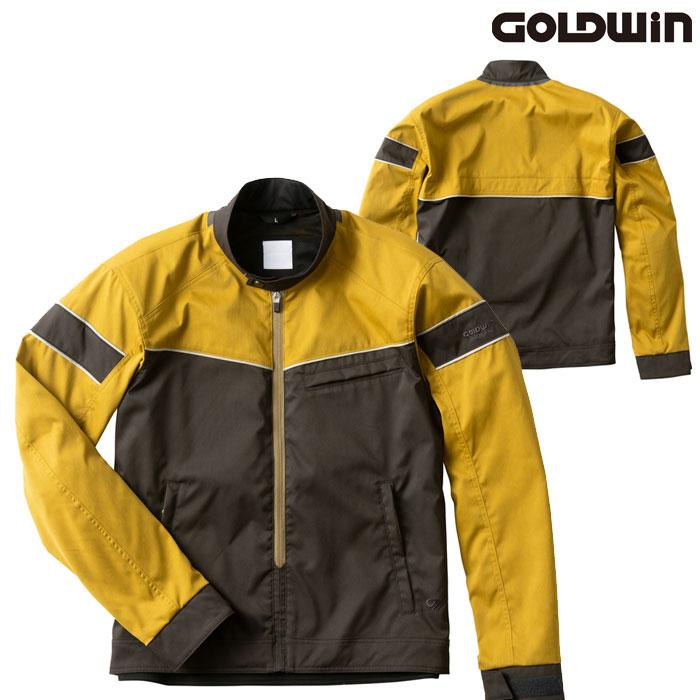GOLDWIN GSM22004 ライトサマージャケット ダークガンメタル×キャメル(DC)◆全4色◆
