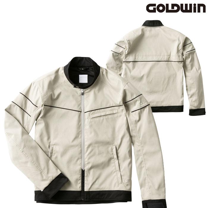 GOLDWIN GSM22004 ライトサマージャケット ストーングレー(SG)◆全4色◆