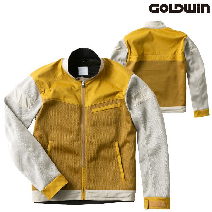 GOLDWIN GSM22006 エアライダーメッシュジャケット キャメル×ストーングレー(CS)◆全3色◆