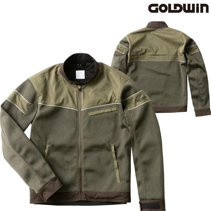 GOLDWIN GSM22006 エアライダーメッシュジャケット オリーブ(OV)◆全3色◆