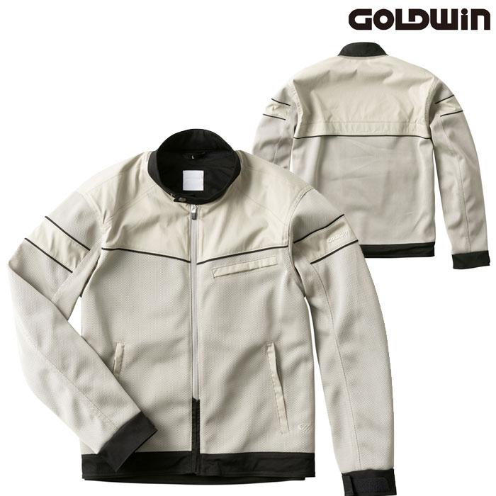 GOLDWIN GSM22006 エアライダーメッシュジャケット ストーングレー(SG)◆全3色◆