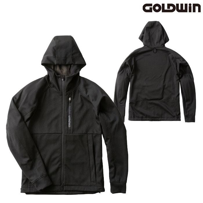 GOLDWIN GSM22007 フーデッドパーカー ブラック(K)◆全3色◆