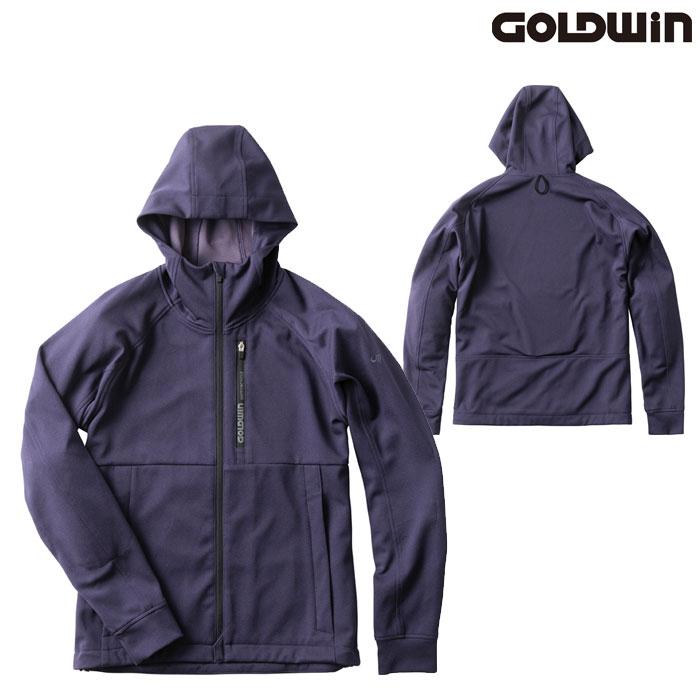 GOLDWIN GSM22007 フーデッドパーカー ネービー(N)◆全3色◆