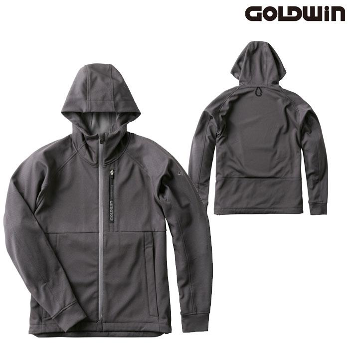 GOLDWIN GSM22007 フーデッドパーカー ミックスグレー(Z)◆全3色◆