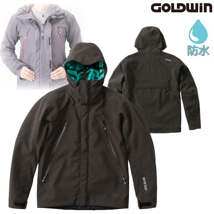 GOLDWIN GSM22900 ゴアテックスマルチフードジャケット ダークオリーブ(DV)◆全4色◆