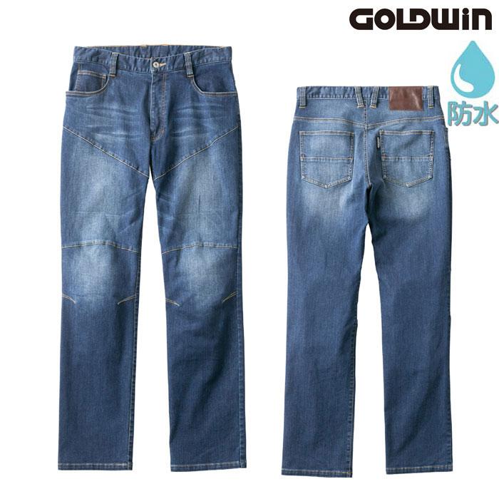 GOLDWIN GSM23003 ストレッチデニムパンツ ハードウォッシュ(HW)◆全2色◆