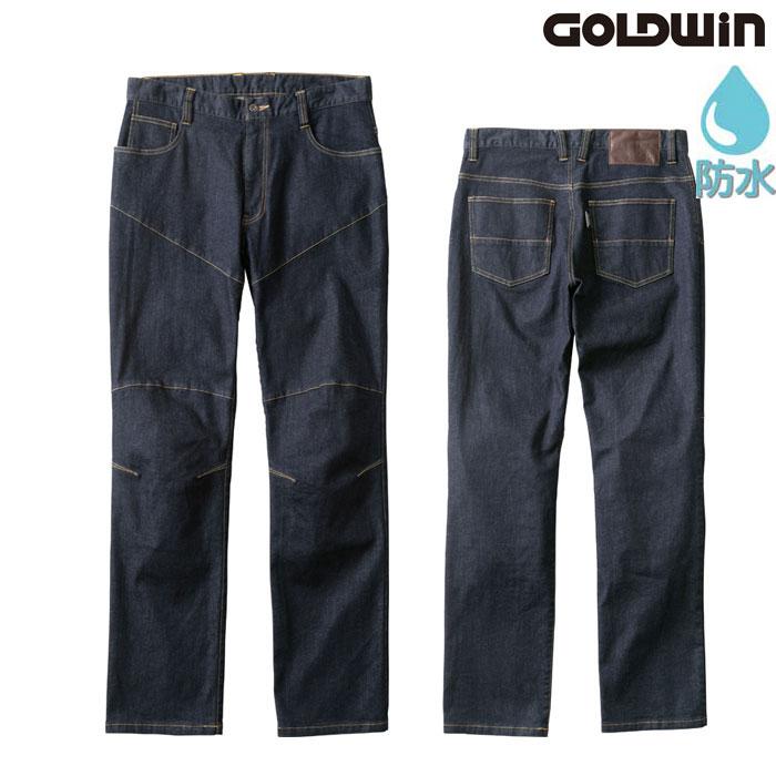 GOLDWIN GSM23003 ストレッチデニムパンツ ワンウォッシュ(OW)◆全2色◆