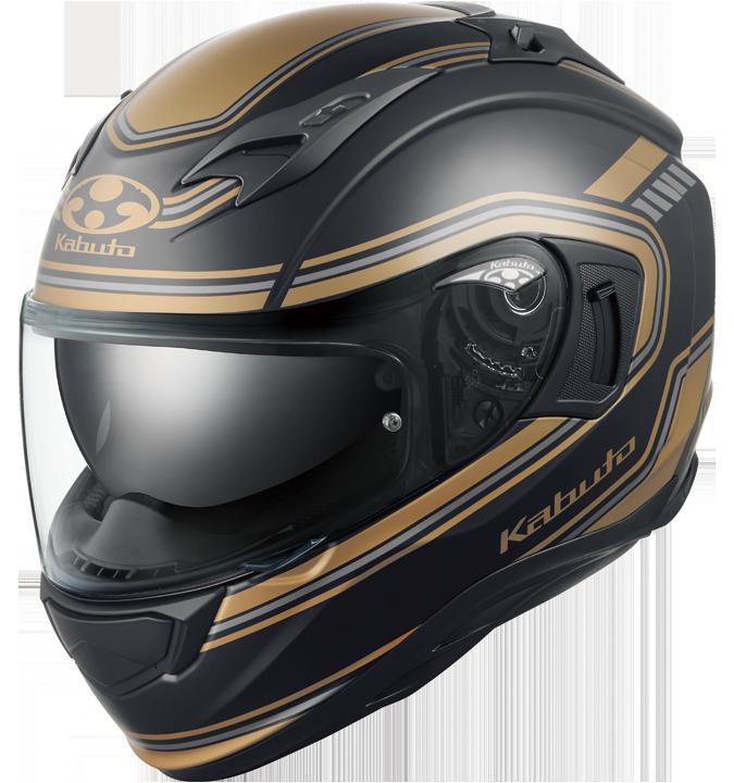 OGK kabuto KAMUI-3 CLASSIC【カムイ3 クラシック】 フルフェイスヘルメット フラットブラックゴールド