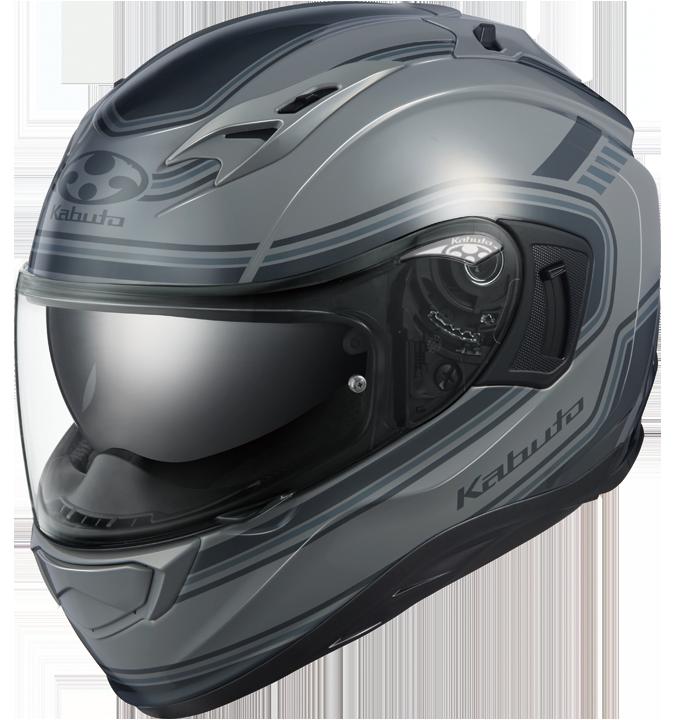 OGK kabuto KAMUI-3 CLASSIC【カムイ3 クラシック】 フルフェイスヘルメット グレー