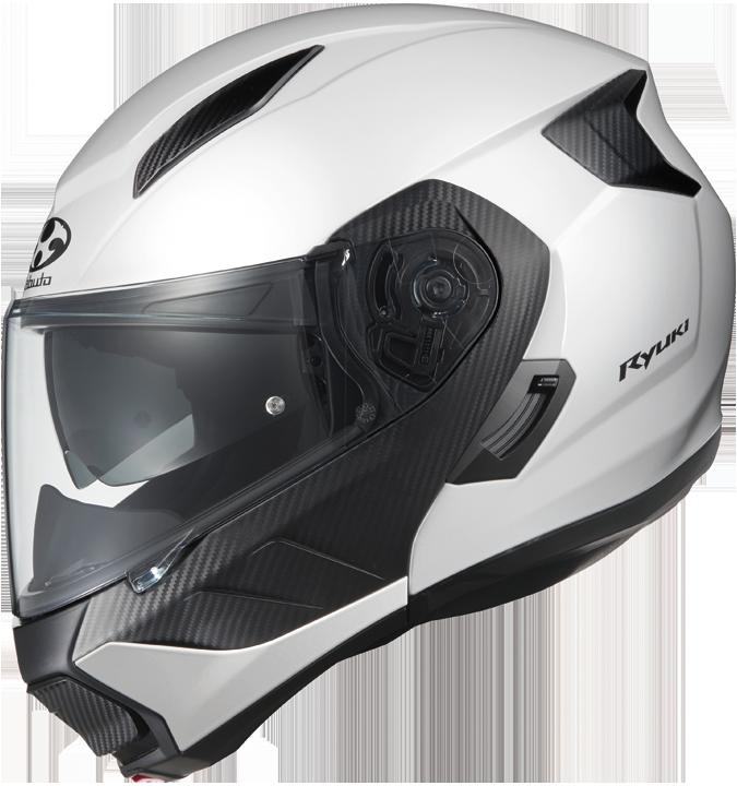 OGK kabuto 〔WEB価格〕RYUKI【リュウキ】フルフェイスヘルメット ホワイトメタリック