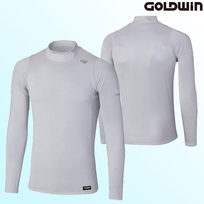GOLDWIN 〔WEB価格〕GSM24007 COOLING ハイネックシャツ グレー(H)◆全2色◆