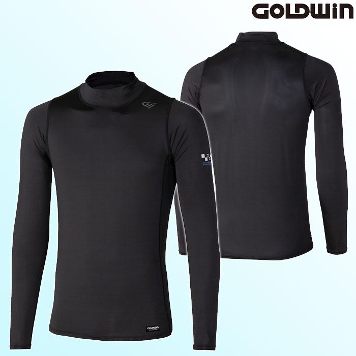 GOLDWIN GSM24007 COOLING ハイネックシャツ ブラック(K)◆全2色◆